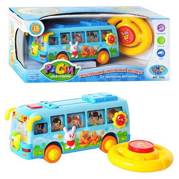 "Муз разв. игрушка ""Автобус"" 7341"