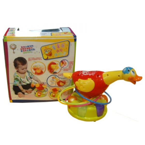 Музыкальная развивающая игрушка гусь 586