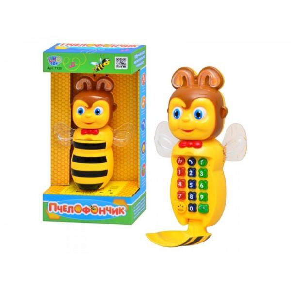 """Музыкальный телефон """"Пчелка"""" 7135"""