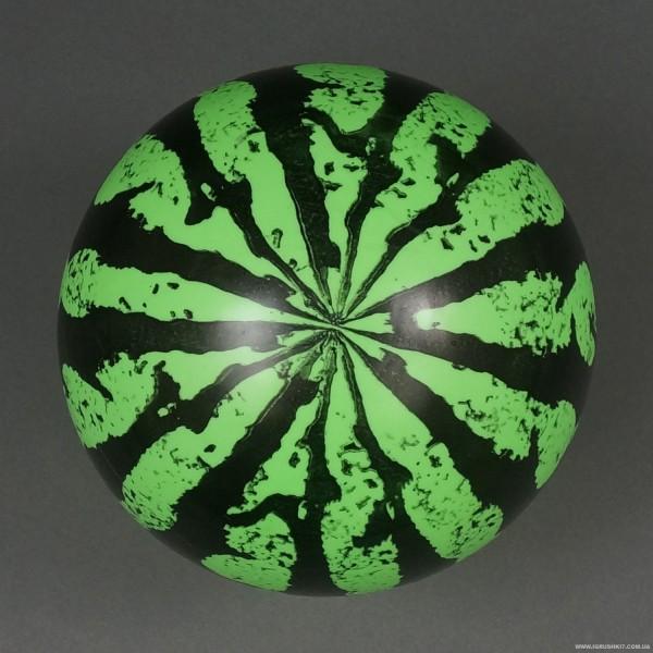 """Мяч детский резиновый 466-520 (500) """"Арбуз"""" 60 амм, размер 9"""""""