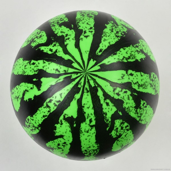 """Мяч детский резиновый F 20000 (400) 70 амм, """"Арбуз"""" размер 9"""""""
