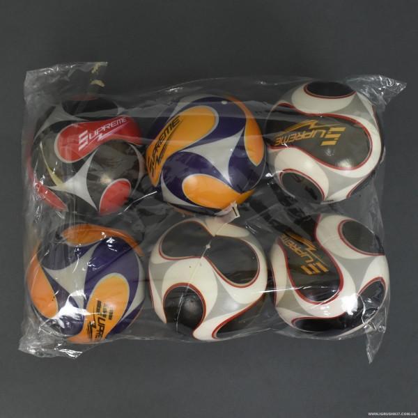 Мяч фомовый PU 466-742 (50) 6 шт в упаковке, 10см.