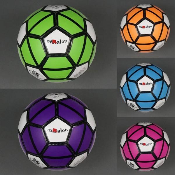 Мяч футбольный 772-441 (100) 260-280 амм, 32 панели, 5 цветов