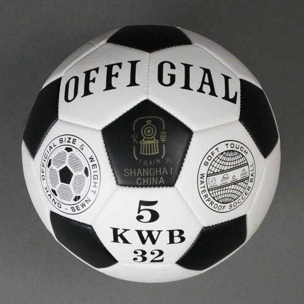 Мяч футбольный 772-620 (60) МАТОВЫЙ, 310-330 амм, 1 вид OFFICIAL, размер №5