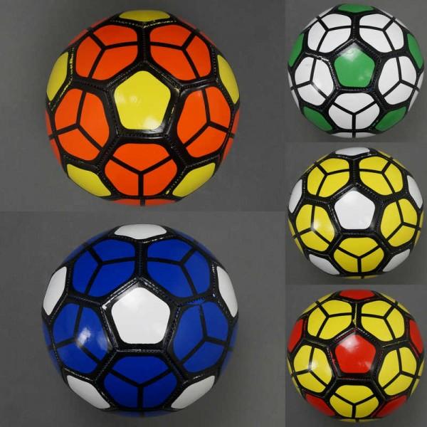 Мяч футбольный 772-622 (100) PVC, вес 270-280 амм, 5 цветов