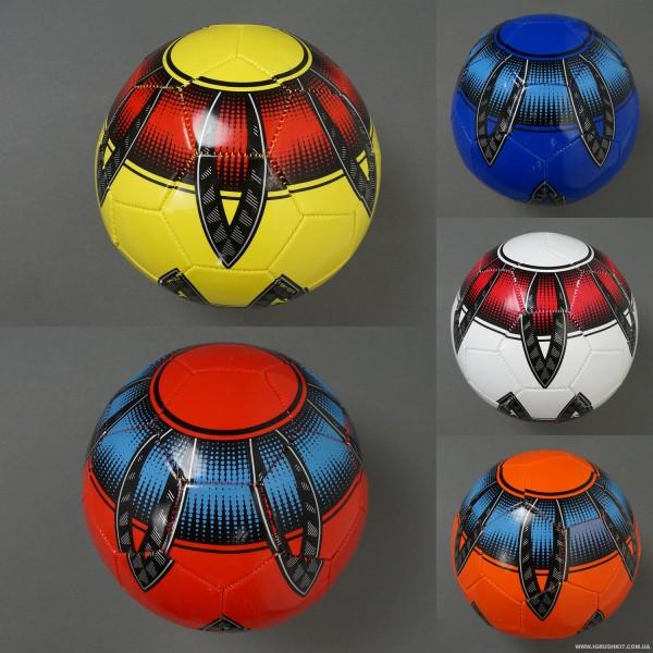 Мяч футбольный 772-625 (100) PVC, вес 270-280 амм, 5 цветов
