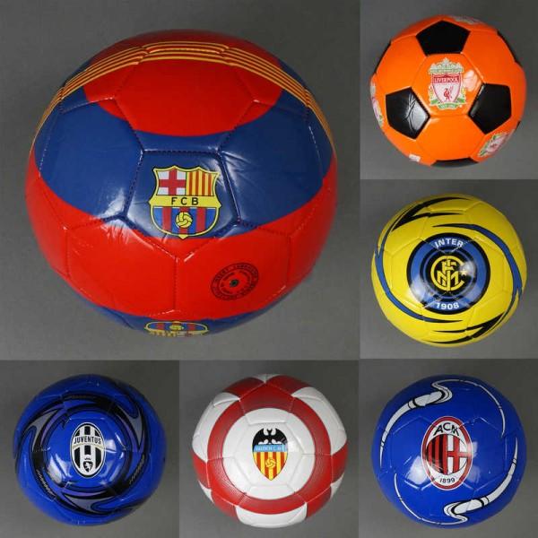 Мяч футбольный 779-838 (60) мягкий PVC, вес 310-330 амм, 32 панели, 9 видов
