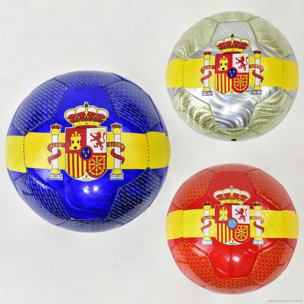 Мяч футбольный F 21962 (60) 3 цвета, 350 амм, материал PU