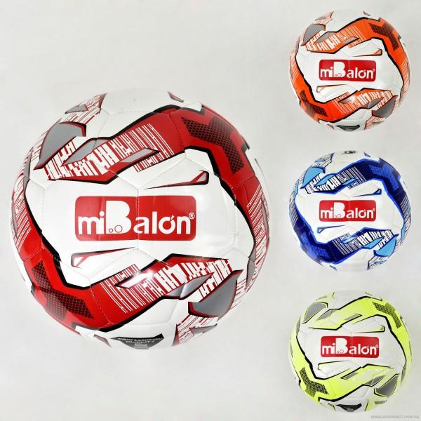 Мяч футбольный F 21966 (50) 4 цвета, 420 амм, материал TPU