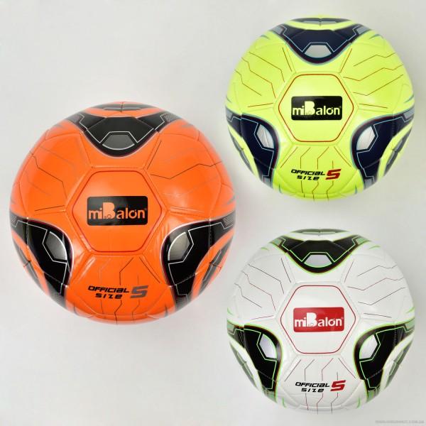 Мяч футбольный F 21967 (50) материал TPU, 420 амм, 3 цвета