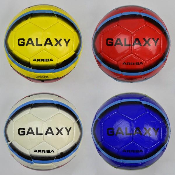 Мяч футбольный F 22051 (50) материал PU, 400 амм, 4 цвета, размер №5