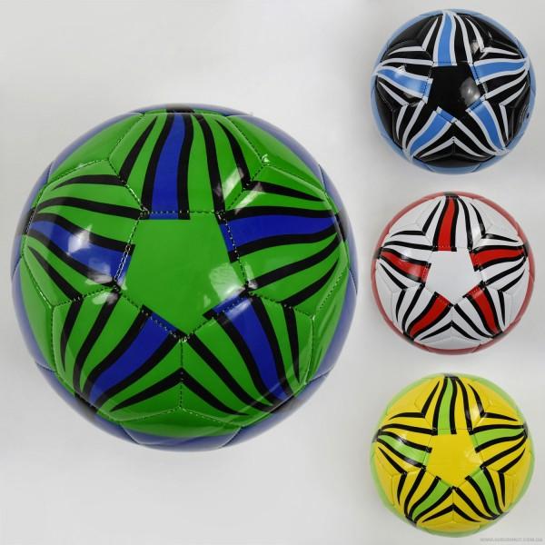 Мяч футбольный F 22060 (60) 4 цвета, 260-280 амм, размер №5 ВЫДАЕМ МИКС