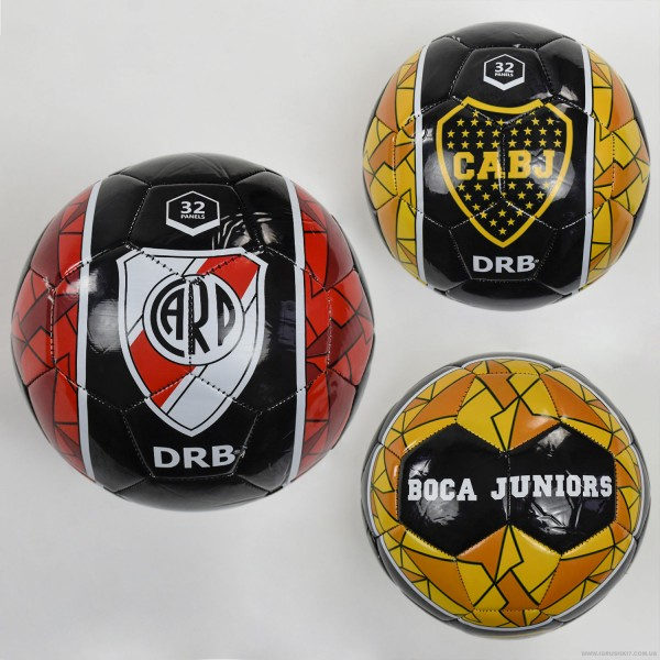 Мяч футбольный F 22061 (60) 3 вида, 260-280 амм, размер №5  ВЫДАЕМ МИКС