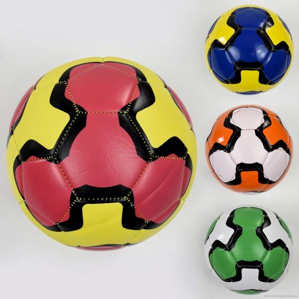 Мяч футбольный F 22062 (60) 4 цвета 260-280 амм, размер №5 ВЫДАЕМ МИКС