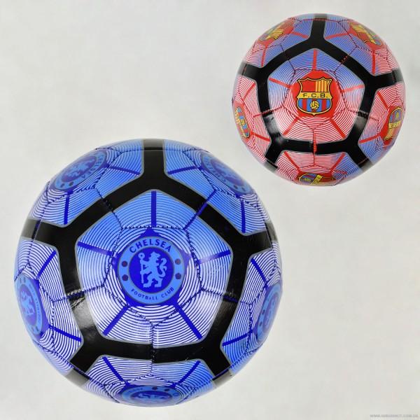 Мяч футбольный F 22082 (100) 2 вида, 260 амм, материал PVC