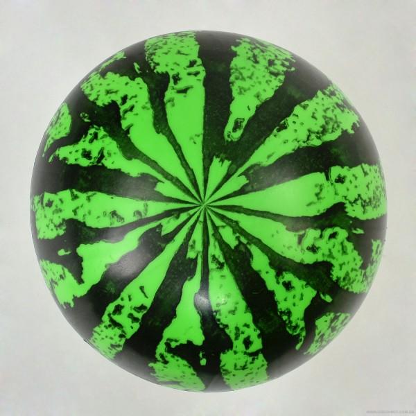 "Мяч резиновый F 22026 (600) ""Арбуз"", размер 6"", 40 амм"