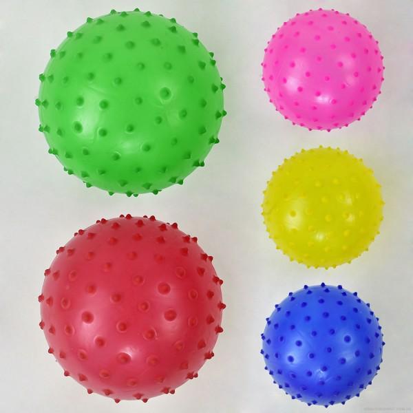 """Мяч резиновый F 22044 (400) размер 10"""", 90 амм, 5 цветов"""