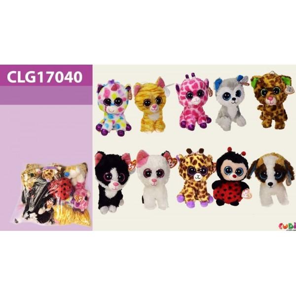 "Мягкая игрушка ""Глазастик"" CLG17040"