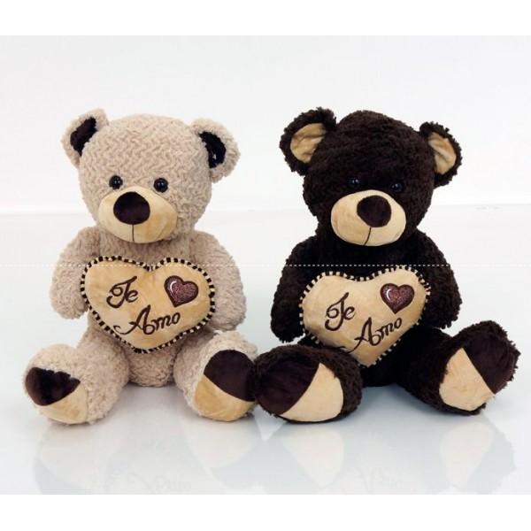 """Мягкая игрушка """"Мишка с сердцем"""" (0102)"""