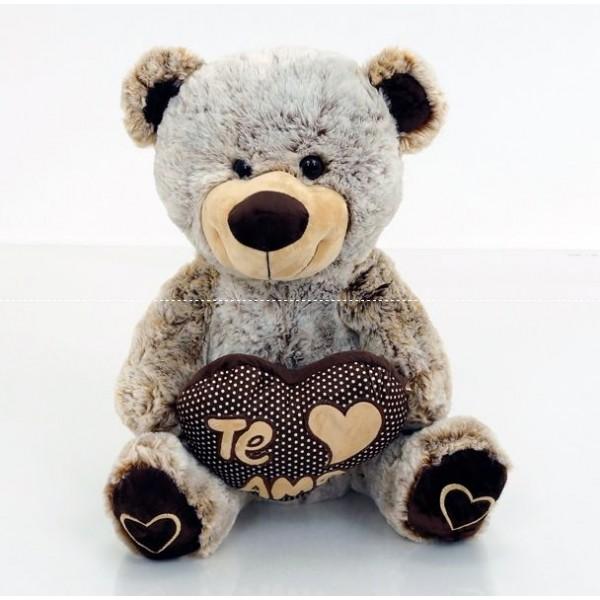 """Мягкая игрушка """"Мишка с сердечком"""" (0100)"""