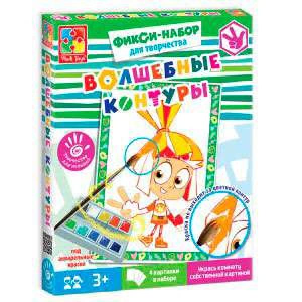 """Набор для творчества """"Волшебные контуры"""" """"Фиксики"""" - VT 4402-21 (20) """"Vladi Toys"""""""