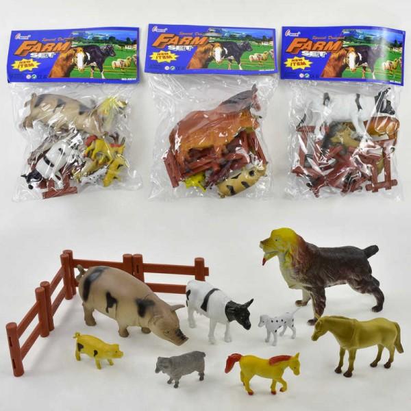 Набор домашних животных Н 640-3 (96)