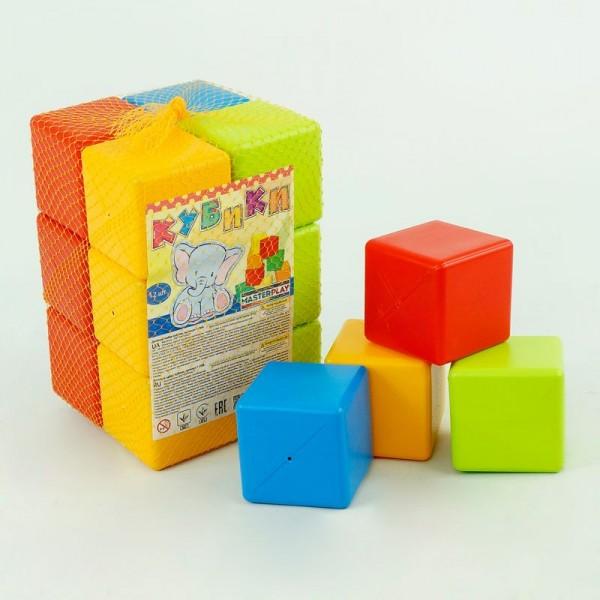 """Набор кубиков 1-068 12 шт. (8) """"MASTERPLAY"""""""