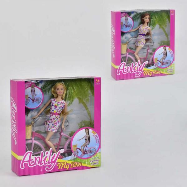 Набор Кукла с велосипедом 99043 (24)