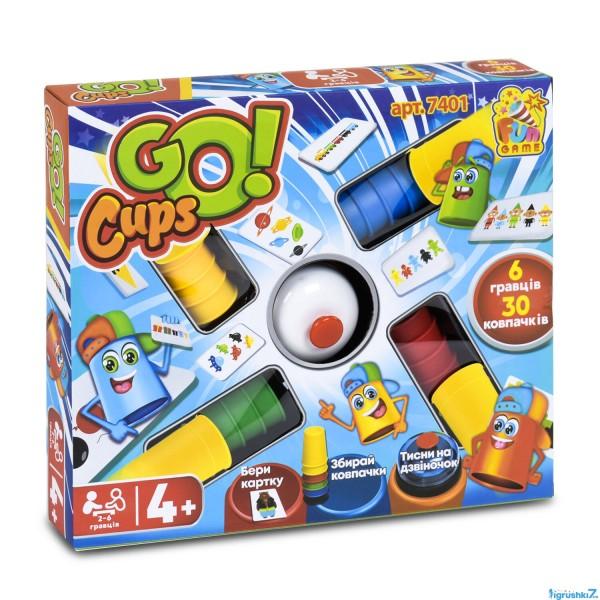 """Настольная развлекательная игра """"Go Cups"""" 7401 (12/2) """"FUN GAME"""""""