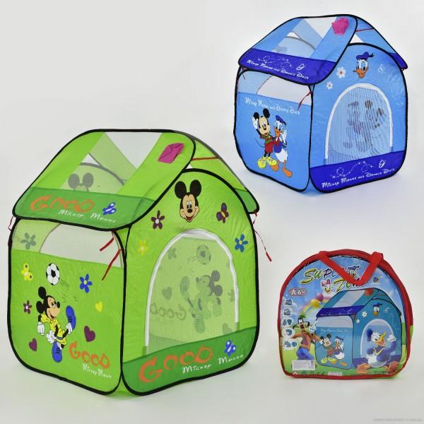 "Палатка А 999-106-7 (36) ""Домик Микки"", 2 вида, в сумке"