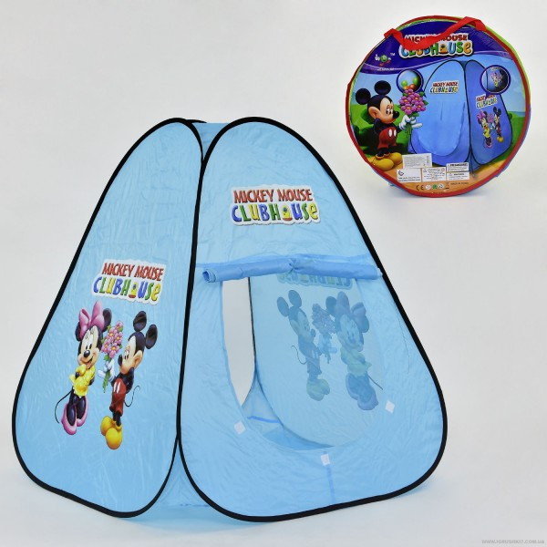 "Палатка А 999-201 (36) ""Микки Маус"", домик, в сумке"