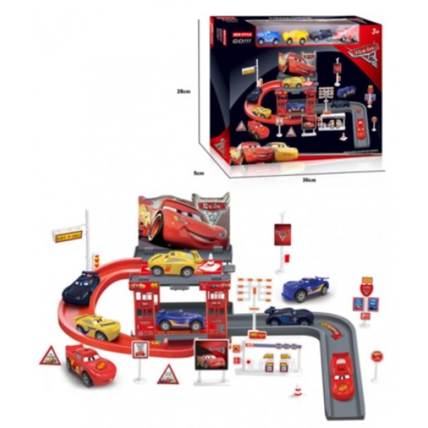 Паркинг 660-A106 (48шт/2) в коробке 28*5*36см