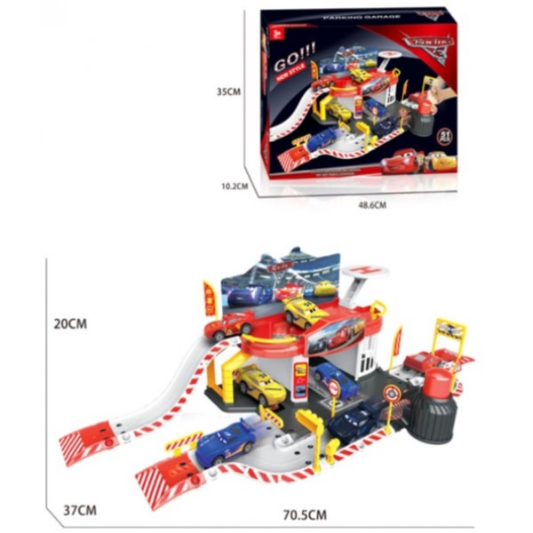 Паркинг 660-A112 (18шт) в коробке48, 5*35*10 см