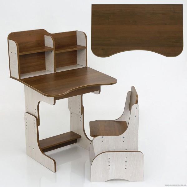 Парта школьная ЛДСП ПШ 012 (1) 69*45 см., + 1 стул