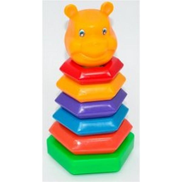 "Пирамида-качалка ""Медведь"" (18) ""M-TOYS"""