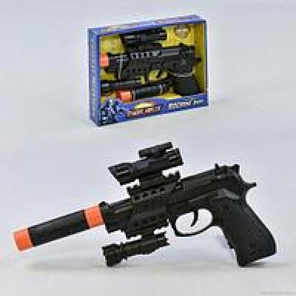 Пистолет с глушителем 0095