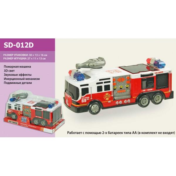 Пожарная машина батар. SD-012D (1269028)