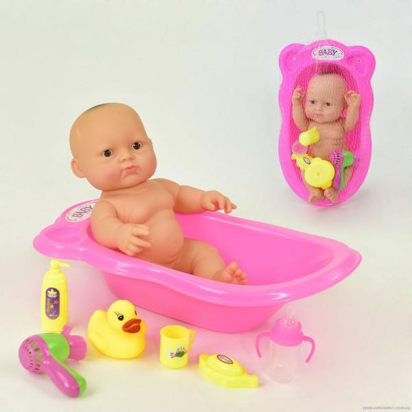 Пупс в ванночке 3А 877 D (72/2)