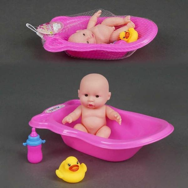 Пупс в ванночке с аксессуарами 15-72