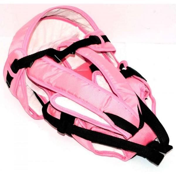 Рюкзак-кенгуру №8 (1) лёжа,цвет розовый