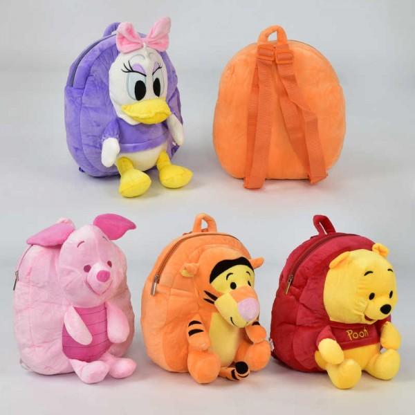 Рюкзак N 00051 мягкий с игрушкой (120)