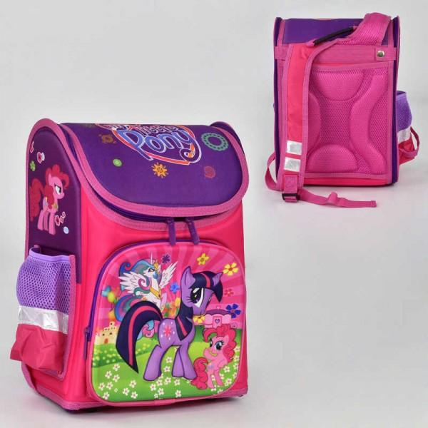 Рюкзак школьный N 00171 (30) 2 кармана, спинка ортопедическая, ножки пластиковые