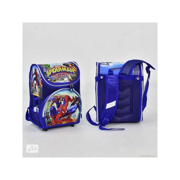 """Рюкзак школьный, синий, """"Spider-Man"""" N00159"""