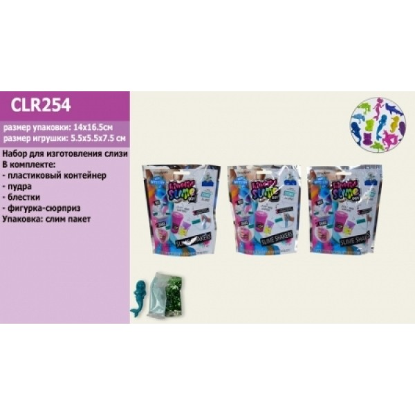 "Сделай Лизун, набор ""DIY Slime"" CLR254 (ZB-ZN-2299)"
