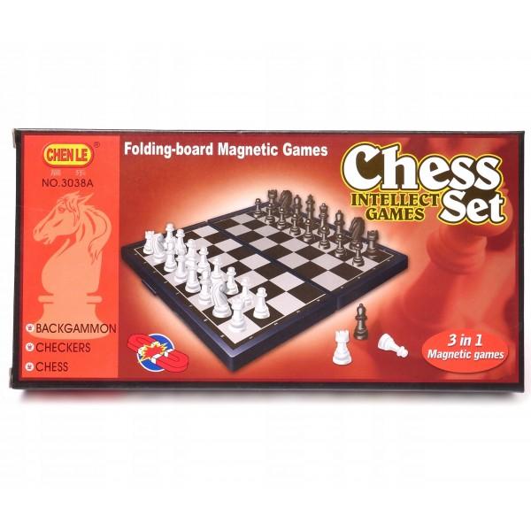 Шахматы магнит. 3038A (397781)