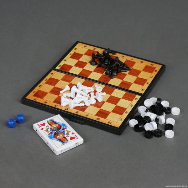 Шашки 5240 (30) 3в1