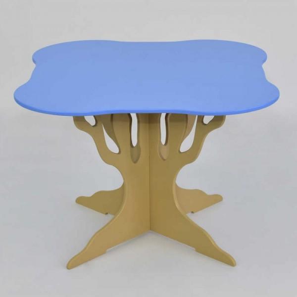 """Стол - дерево 5220 - цвет голубой (1) """"МАСЯ"""""""