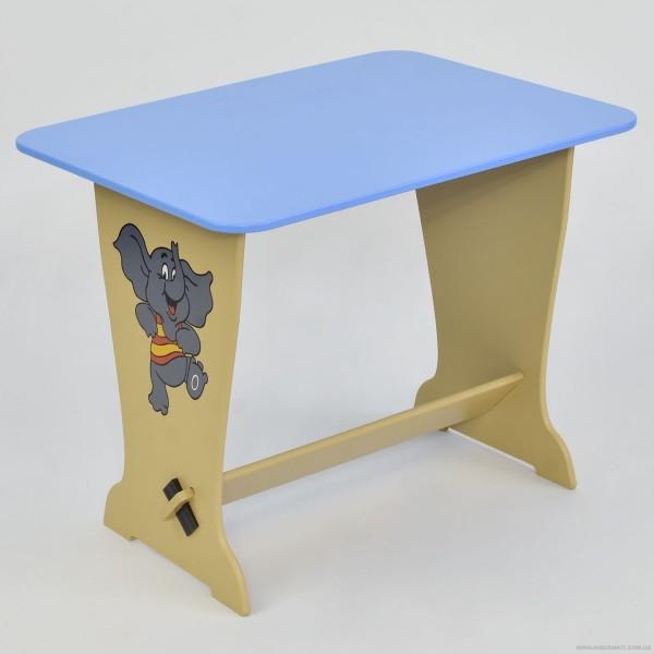 """Стол - парта 6222  """"Слон"""" - цвет голубой (1) """"МАСЯ"""""""