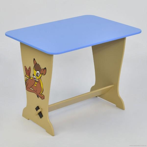 """Стол - парта 6223 """"Оленёнок Бэмби"""" - цвет голубой (1) """"МАСЯ"""""""