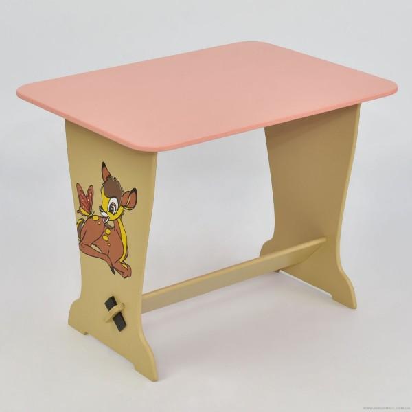 """Стол - парта 6232 """"Оленёнок Бэмби"""" - цвет розовый (1) """"МАСЯ"""""""